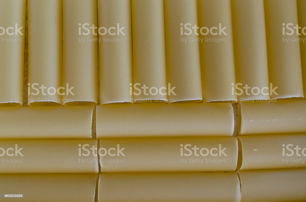 Canneloni raw pasta food stock photo