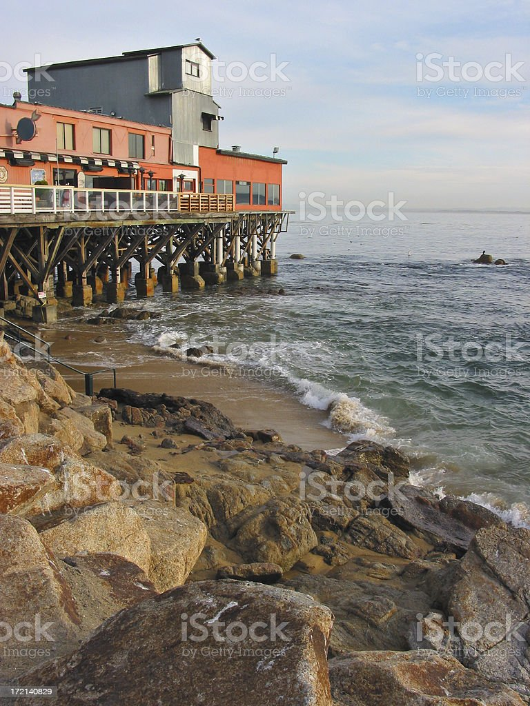 Cannery Row royalty-free stock photo