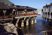 Cannery Row shows and restaurants Monterey Harbor California
