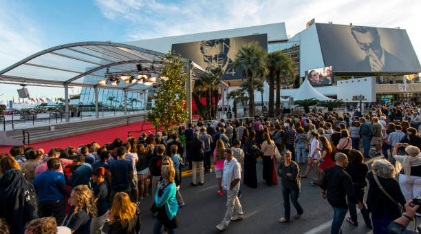 cannes film festival - film festival stock photos and pictures