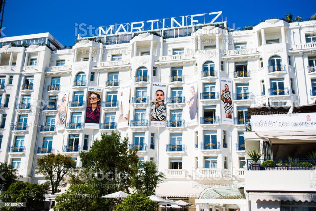 Cannes film festival,2018th edition stock photo