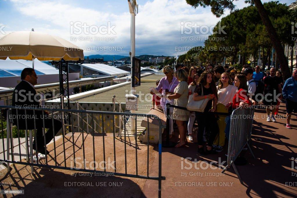 Cannes film festival,2018th editon stock photo