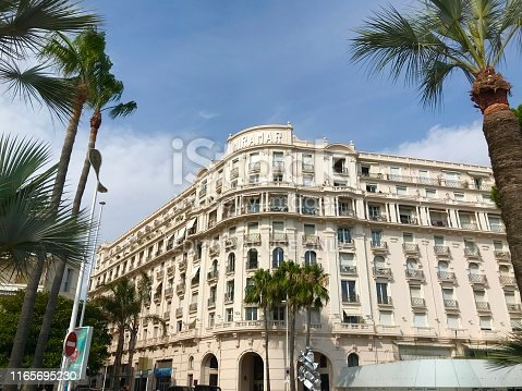 istock Cannes France Miramar luxury apartments seaside port Croisette travel summer holiday 1165695230