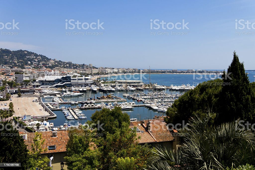 Cannes, France, Panorama View royalty-free stock photo