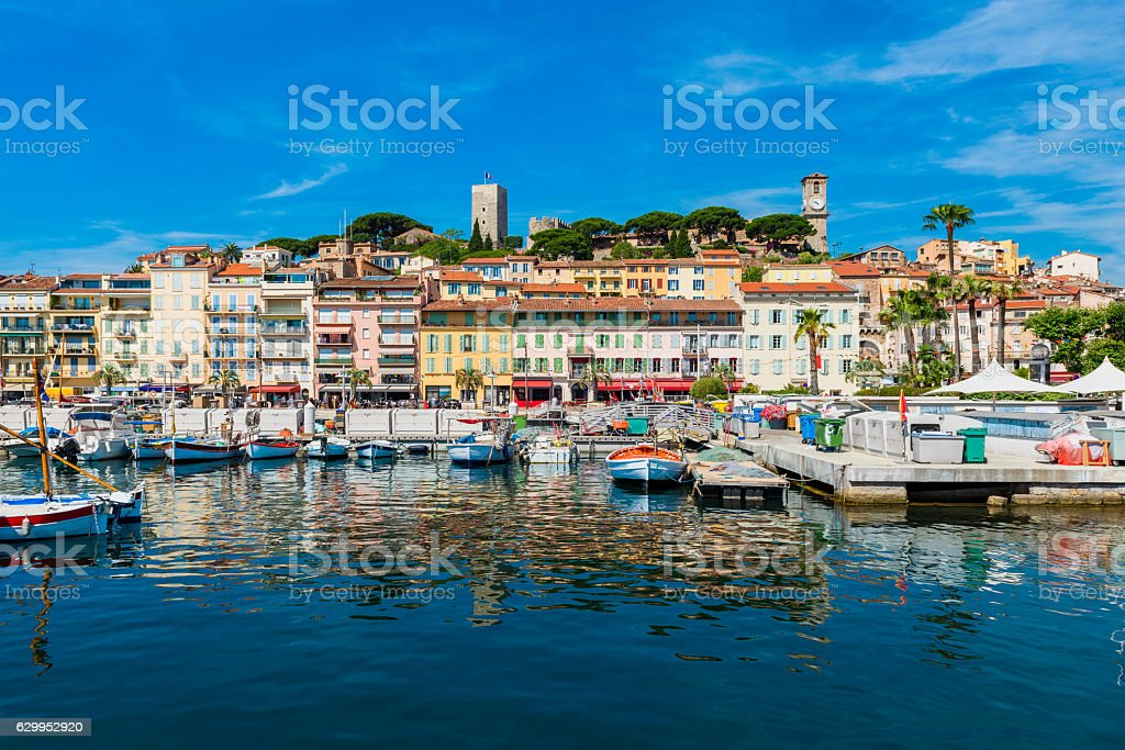 Cannes France stock photo