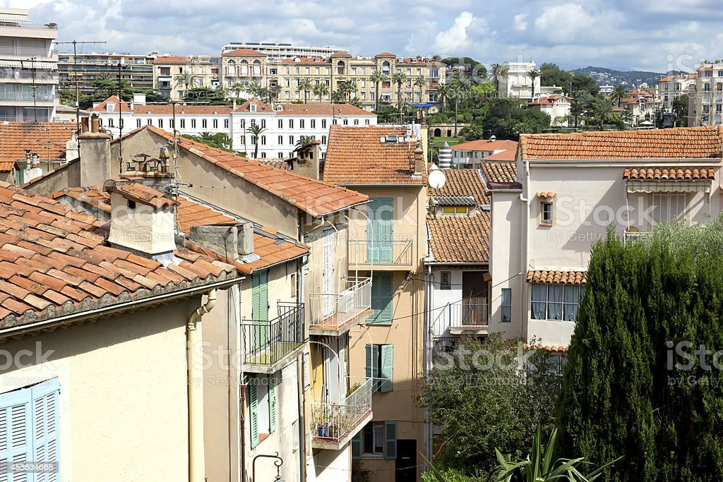 Cannes - Old town royalty-free stock photo