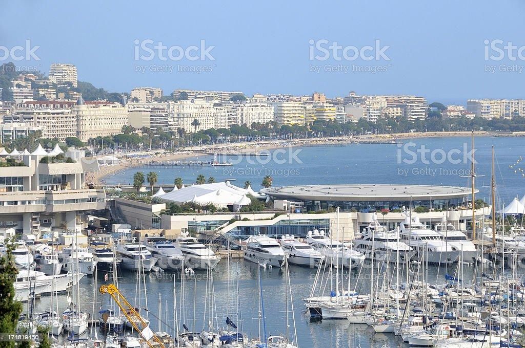 Cannes - Palais des Festivals royalty-free stock photo