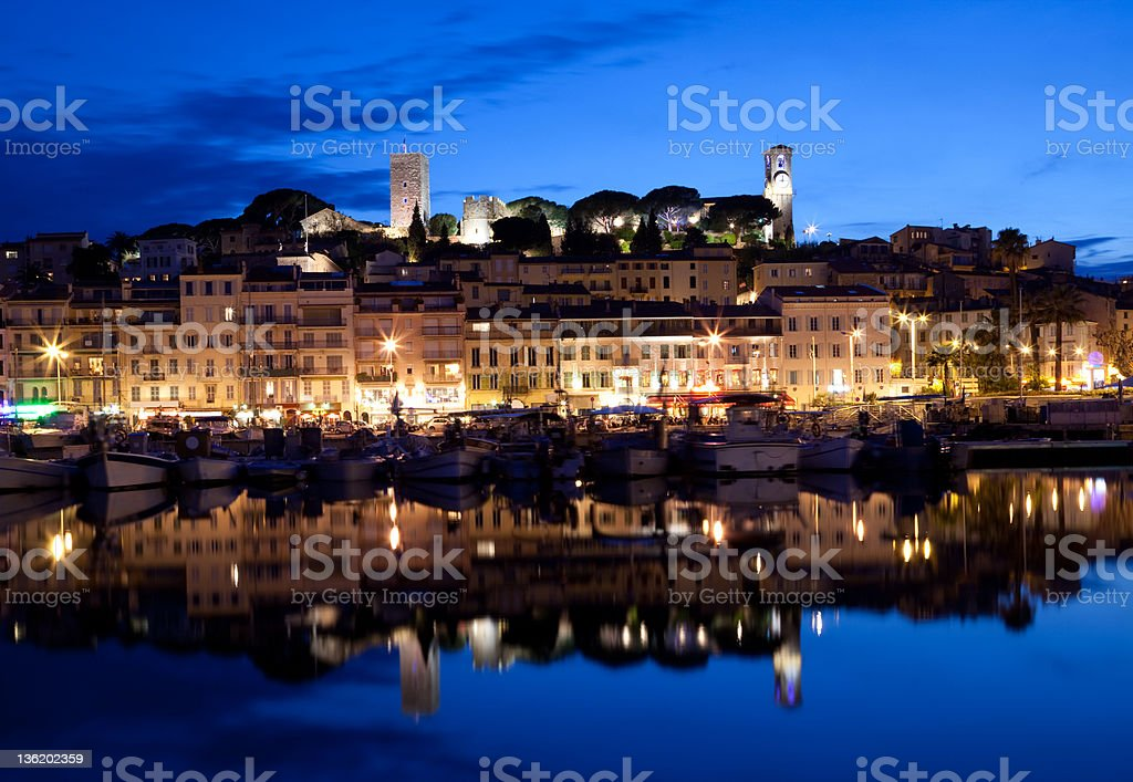 Cannes stock photo