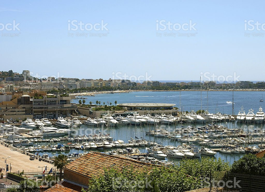 Cannes - port royalty-free stock photo