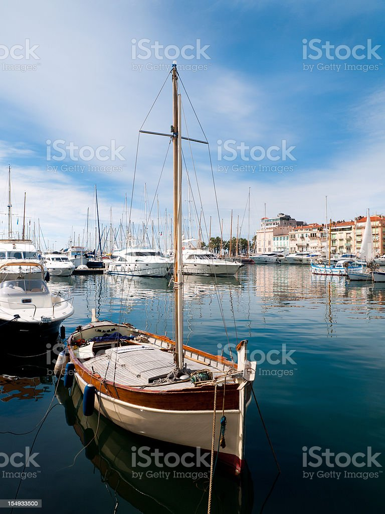 Cannes Waterfront, France stock photo