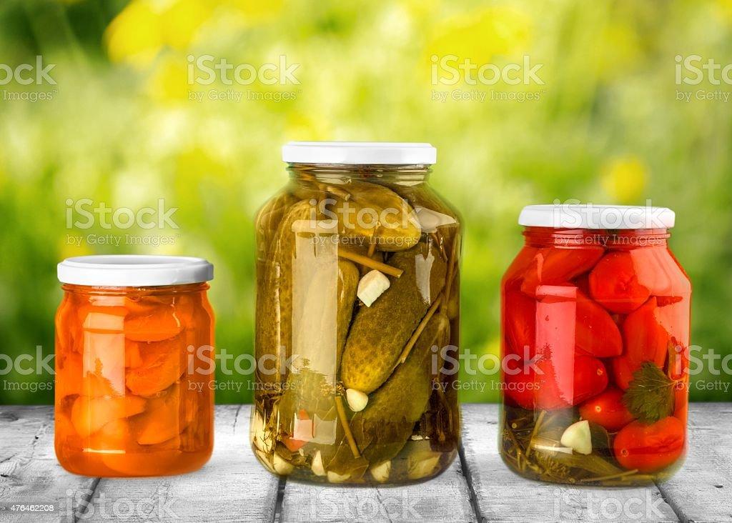 Canning, Jar, Food stock photo