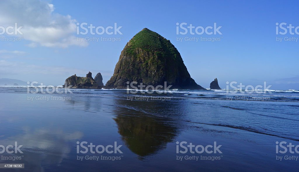 Cannon Beach Liberty Bell stock photo