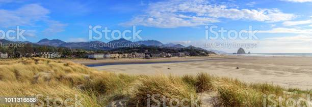 Photo of Cannon Beach Oregon Panorama