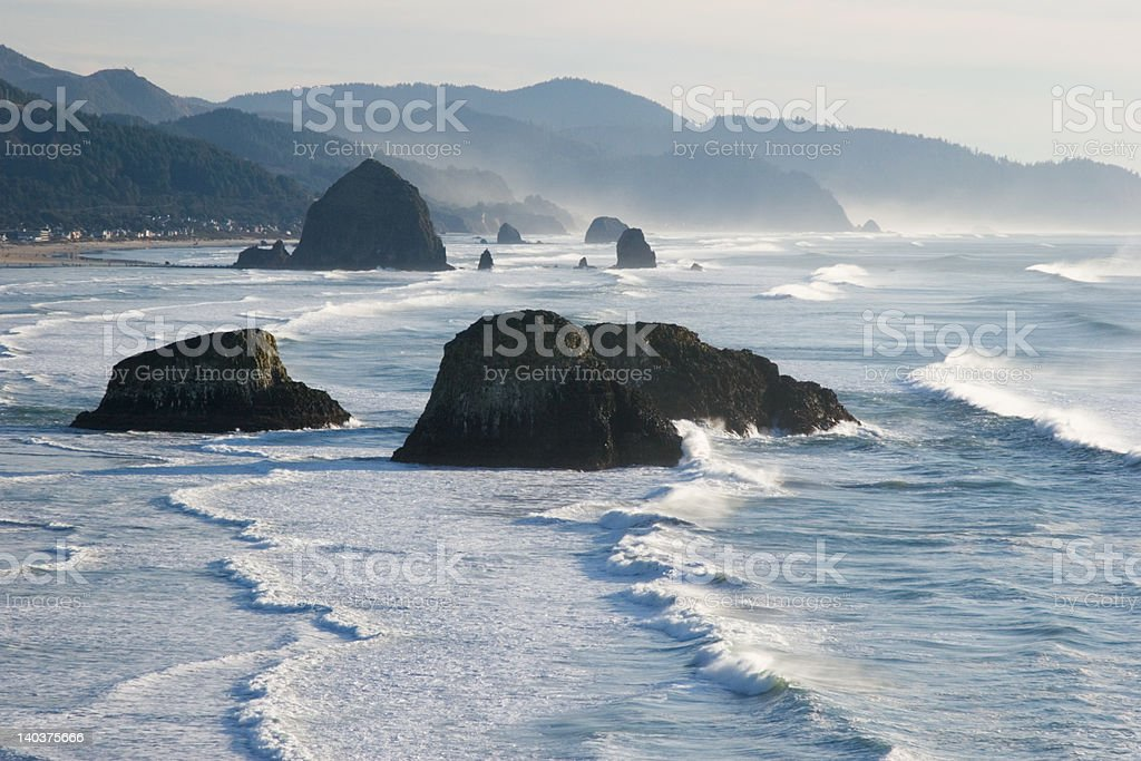 Cannon Beach, Oregon stock photo