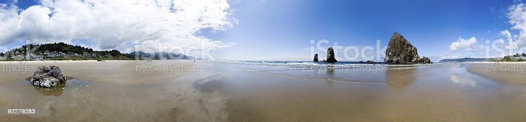 Cannon Beach-une vue panoramique à 360 degrés - Photo