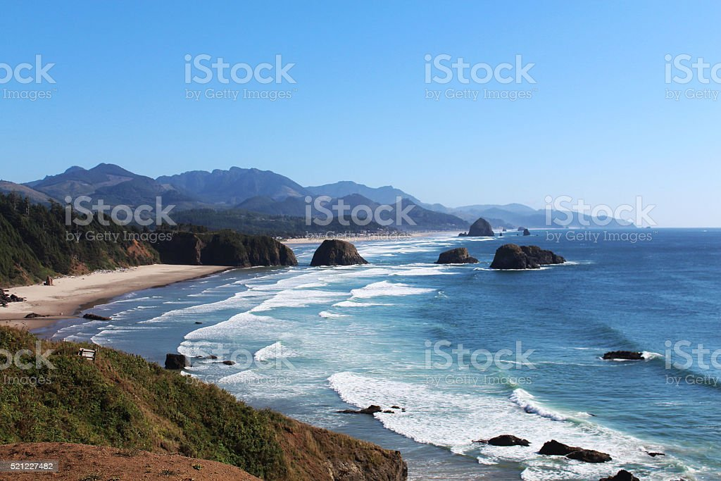 Cannon Beach royalty-free stock photo