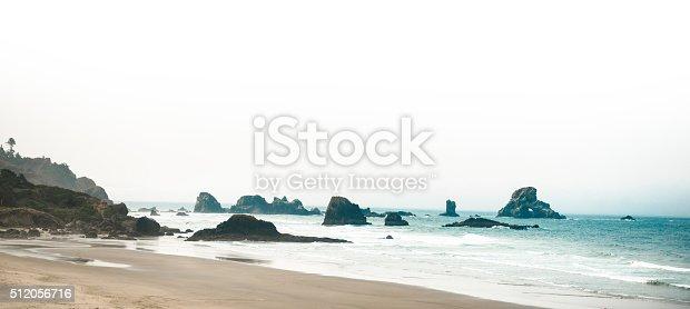 cannon beach rocks in Oregon