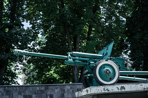 A cannon from the times of war