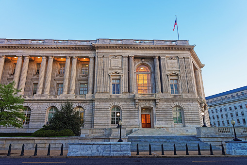 Cannon House Office Building is located in Washington D.C., USA. It is the oldest congressional office building which was completed in 1908. It was named after  former Joseph Gurney Cannon.