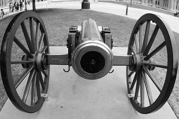 Cannon In Texas stock photo