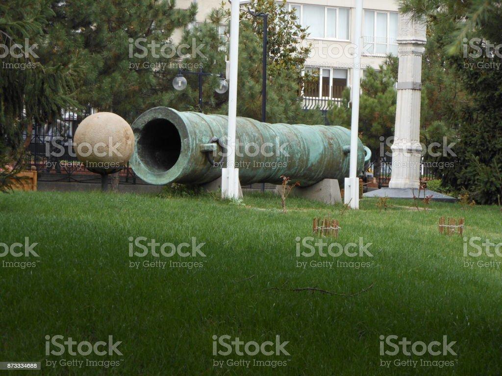 Cannon - Mehmed The Conqueror stock photo