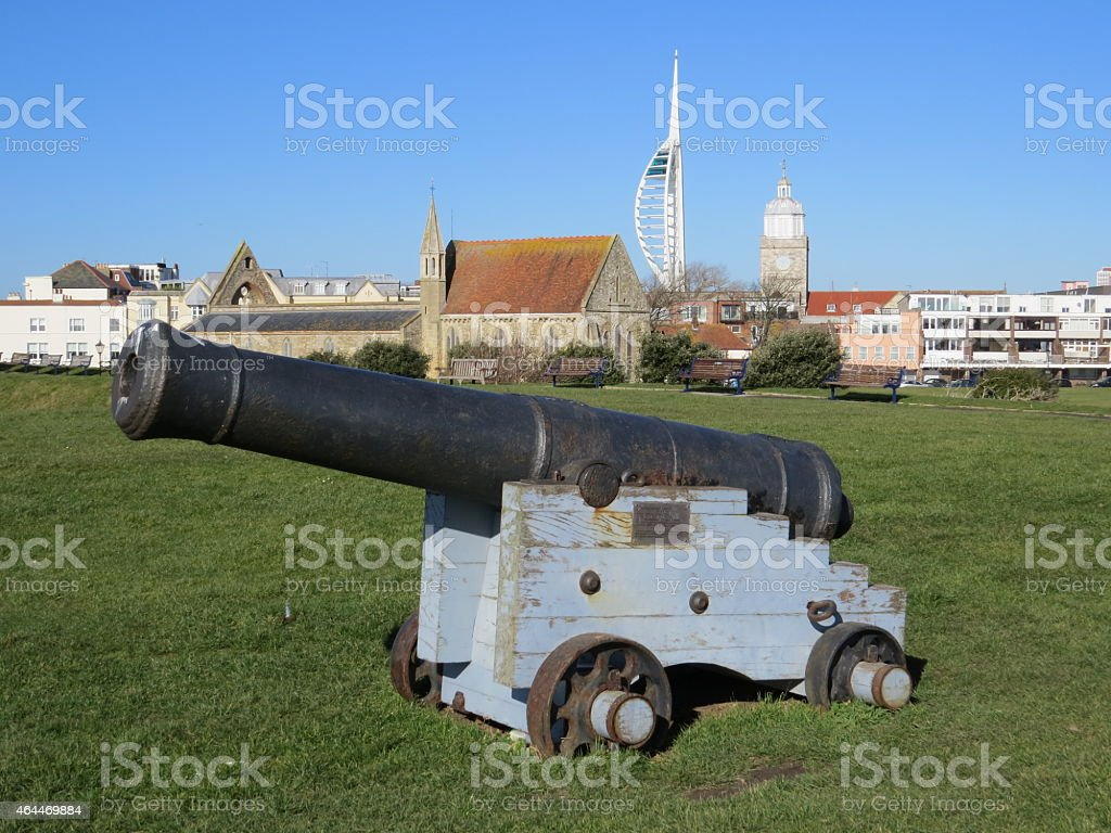 Cannon stock photo
