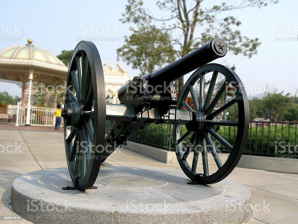 cannon Lizenzfreies stock-foto