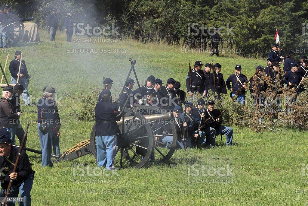 cannon ready royalty-free stock photo