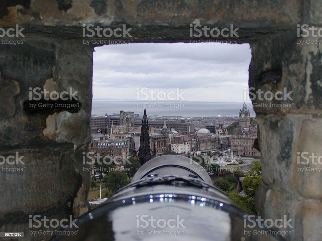 Cannon Shooting Tower royalty-free stock photo
