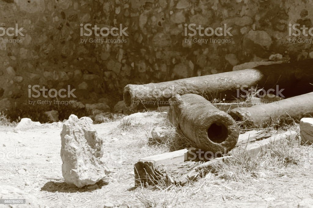 Cannons foto stock royalty-free