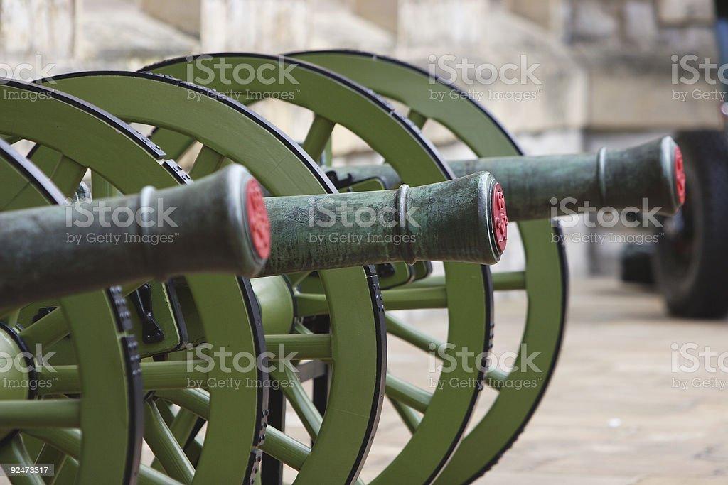 Cannons Lizenzfreies stock-foto