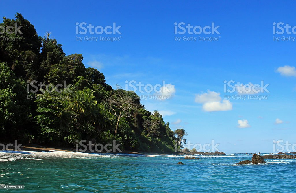 Cano Island bildbanksfoto
