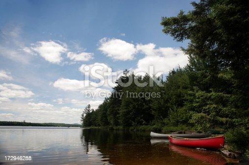 istock Canoe camping 172946288