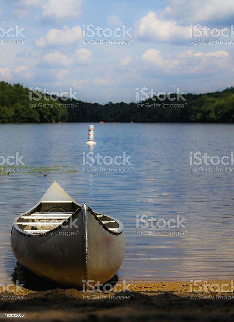 canoe stock photo