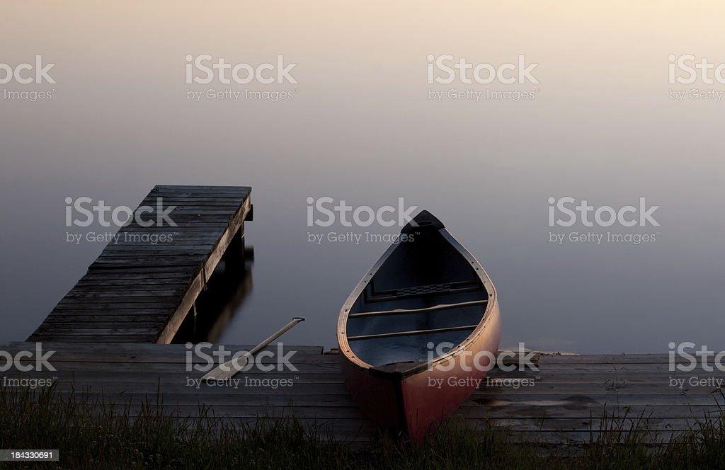 Canoe royalty-free stock photo