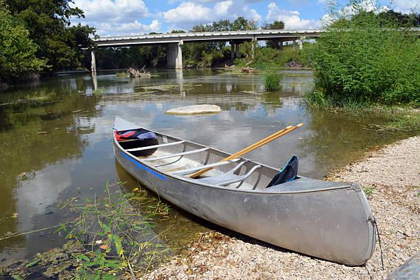 Canoe River stock photo