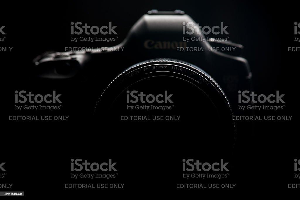 Canon 5D mark III camera stock photo