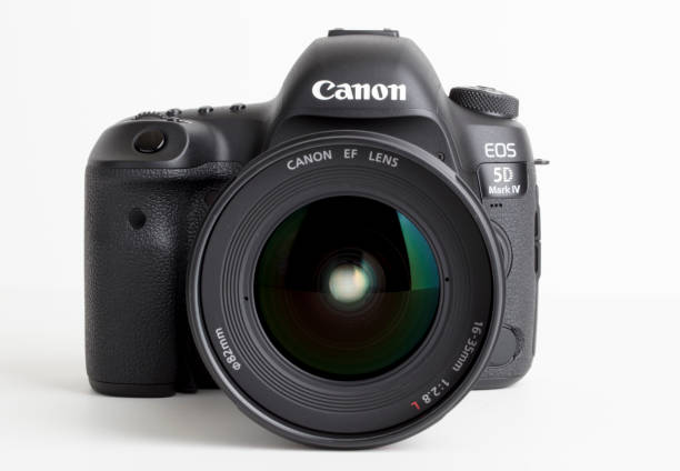canon 5d mark iv - appareil photo photos et images de collection