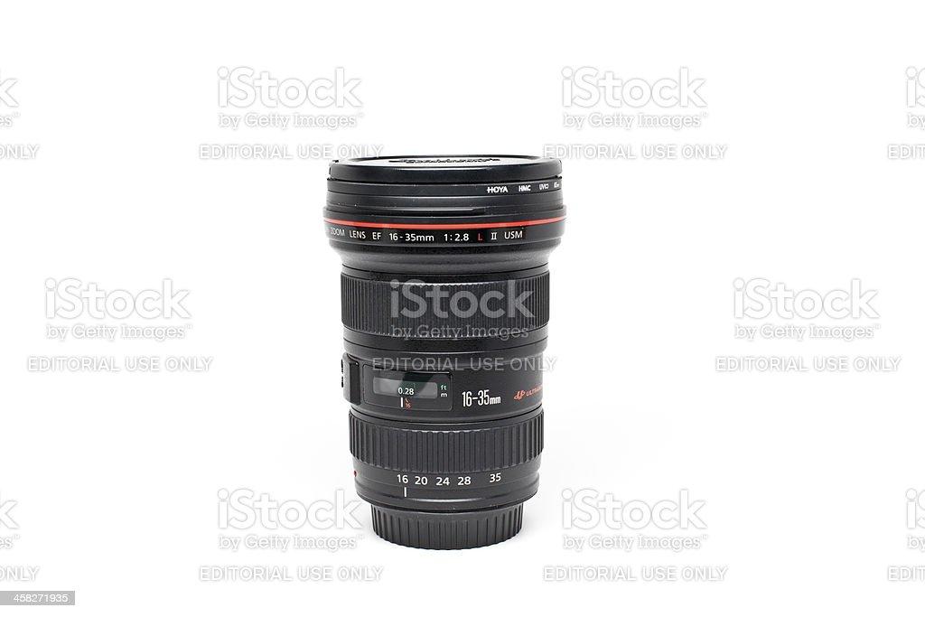 Canon EF 16-35mm f/2.8L II USM Lens stock photo