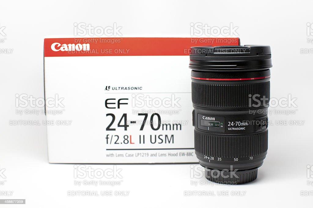 Canon EF 24-70mm f/2.8L II USM stock photo