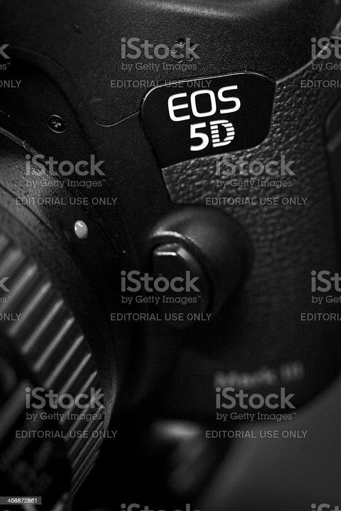 Canon EOS 5D Mark III royalty-free stock photo