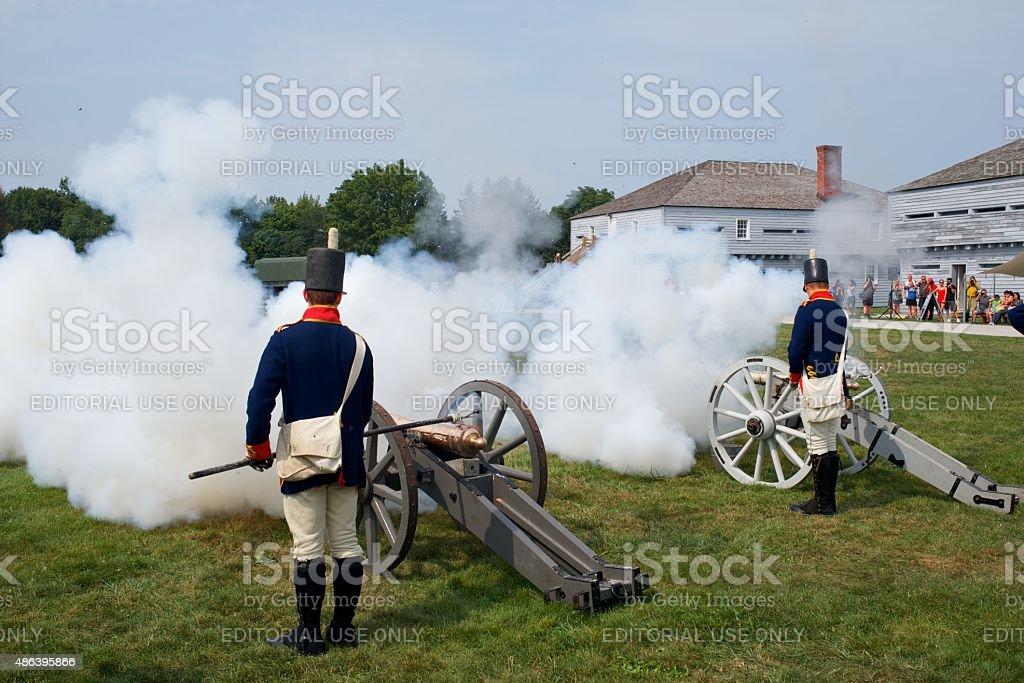 Canon entlassen werden Demonstration im Fort George Park – Foto