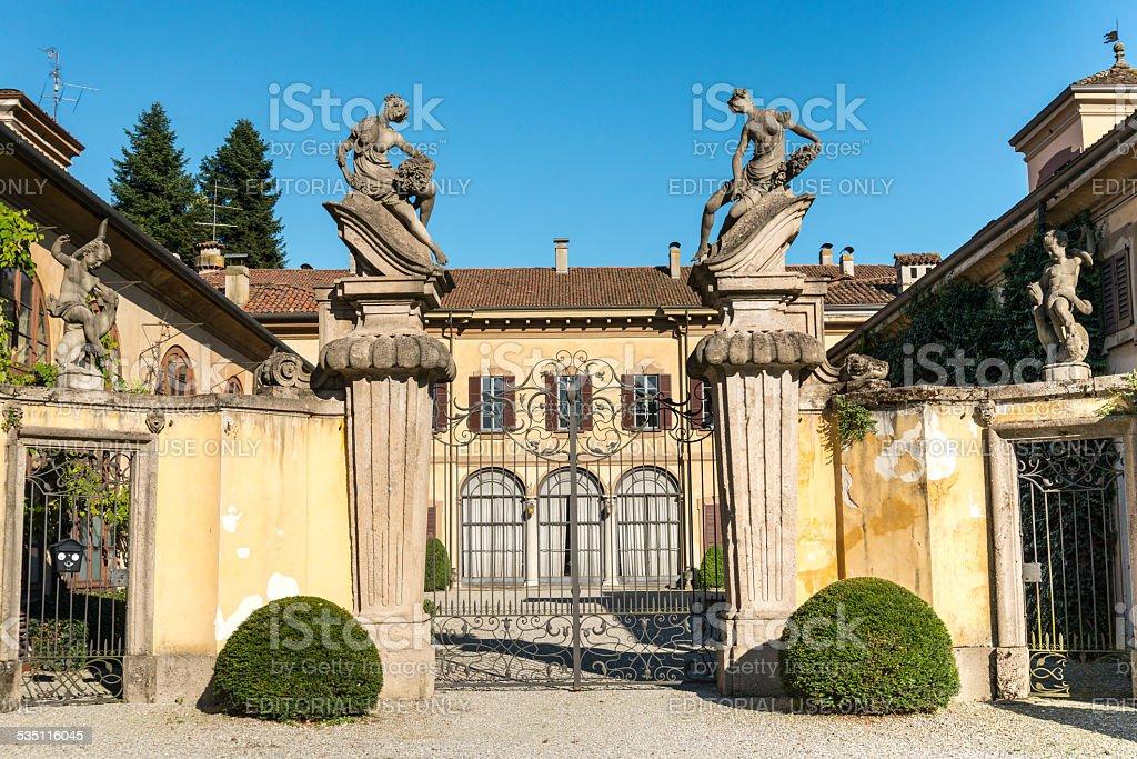 Canonica al Lambro (Italy) stock photo
