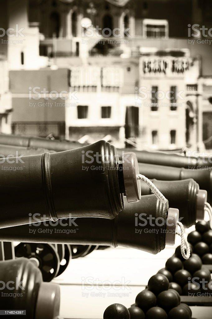 Canons stock photo