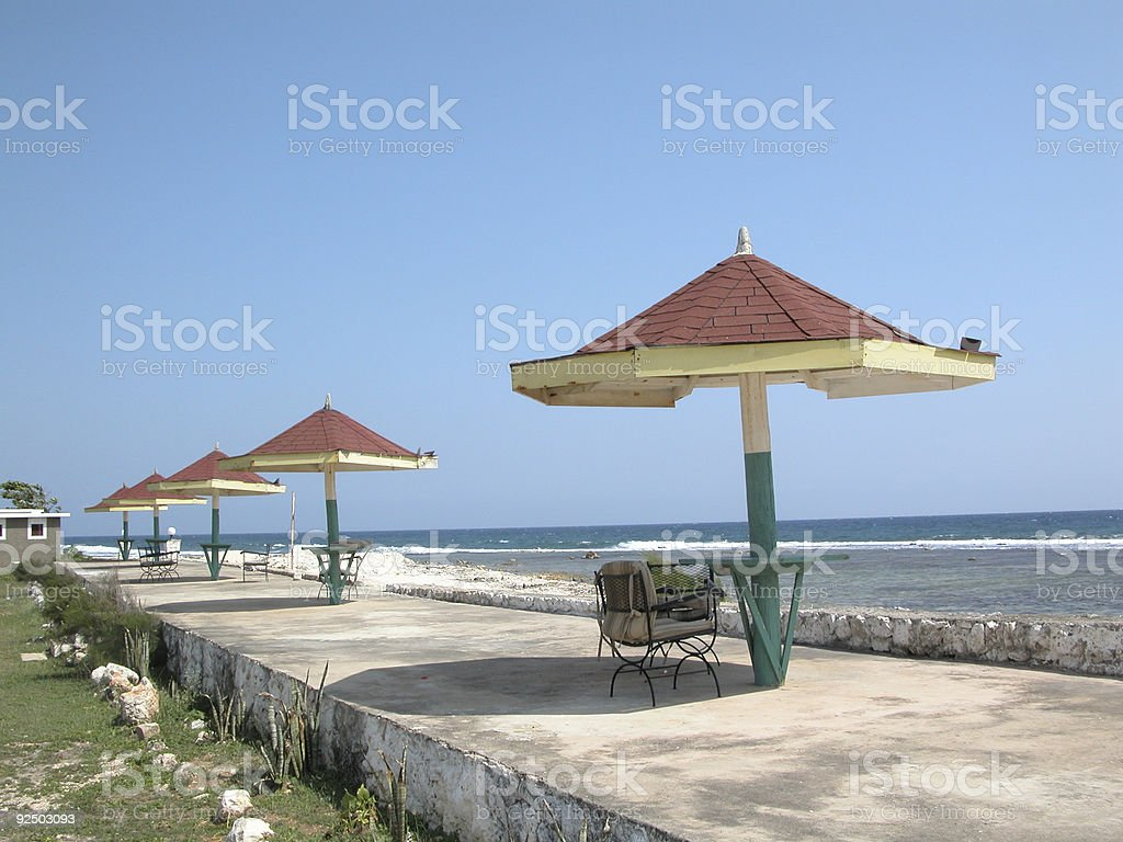 Canopies Galore royalty-free stock photo