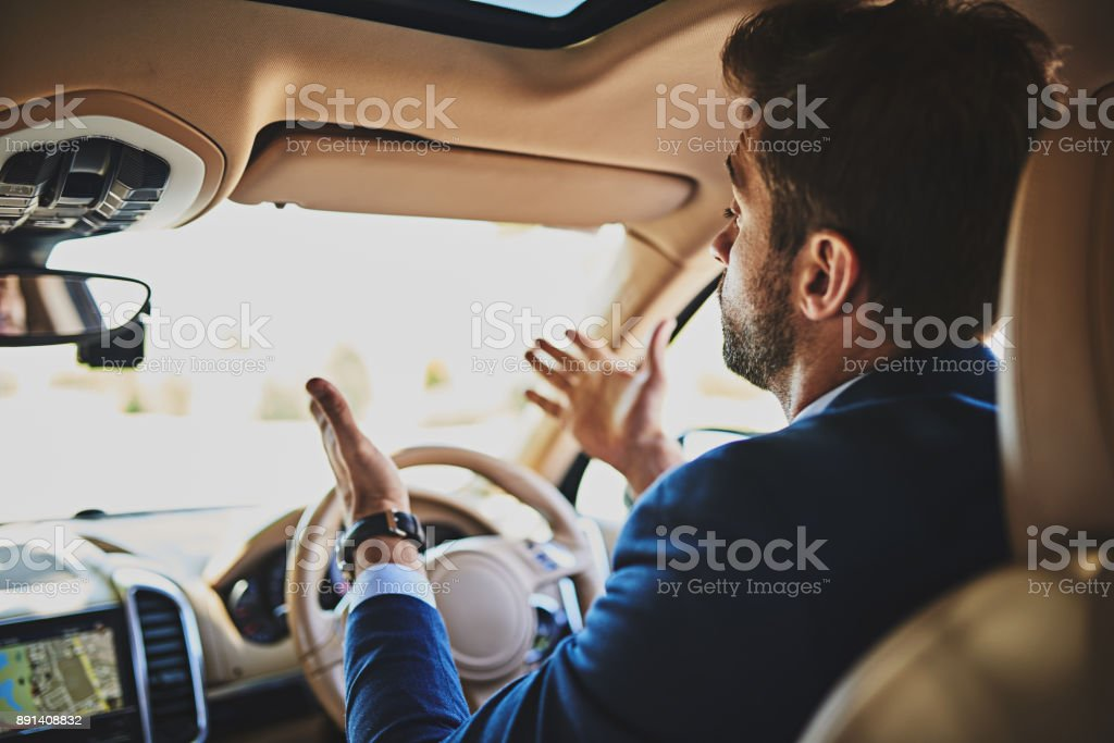 I can't believe how many cars are on the road stock photo