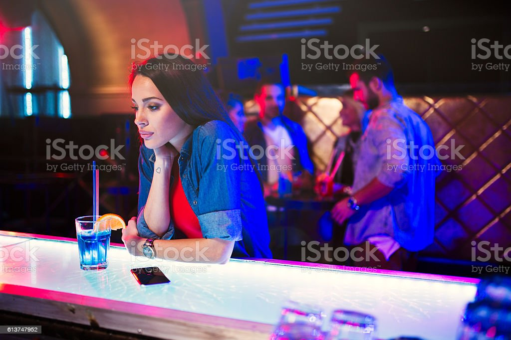 Can't believe I got stood up stock photo