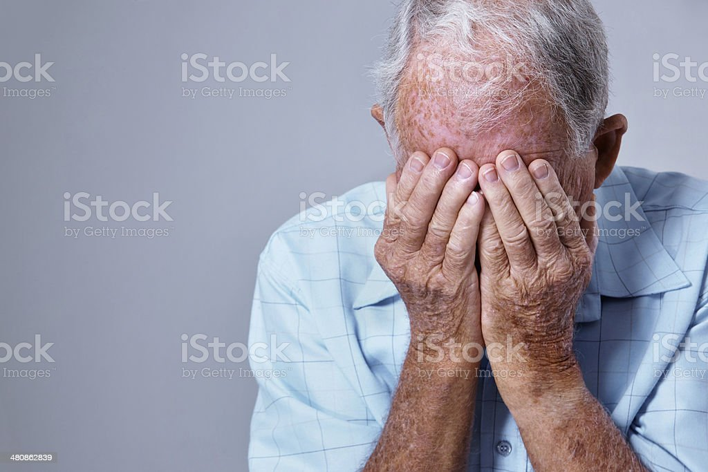 I can't believe she's gone... stock photo