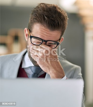 istock Can't deal 909045816
