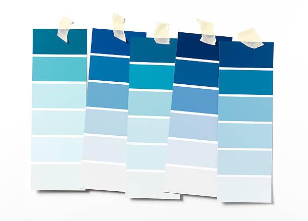 i can't decide - kleurenwaaier stockfoto's en -beelden